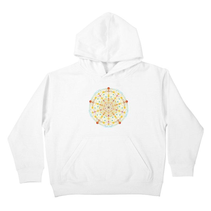 Neural Mandala 2 Kids Pullover Hoody by kharmazero's Artist Shop