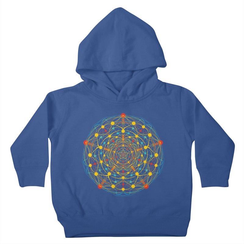 Neural Mandala 2 Kids Toddler Pullover Hoody by kharmazero's Artist Shop