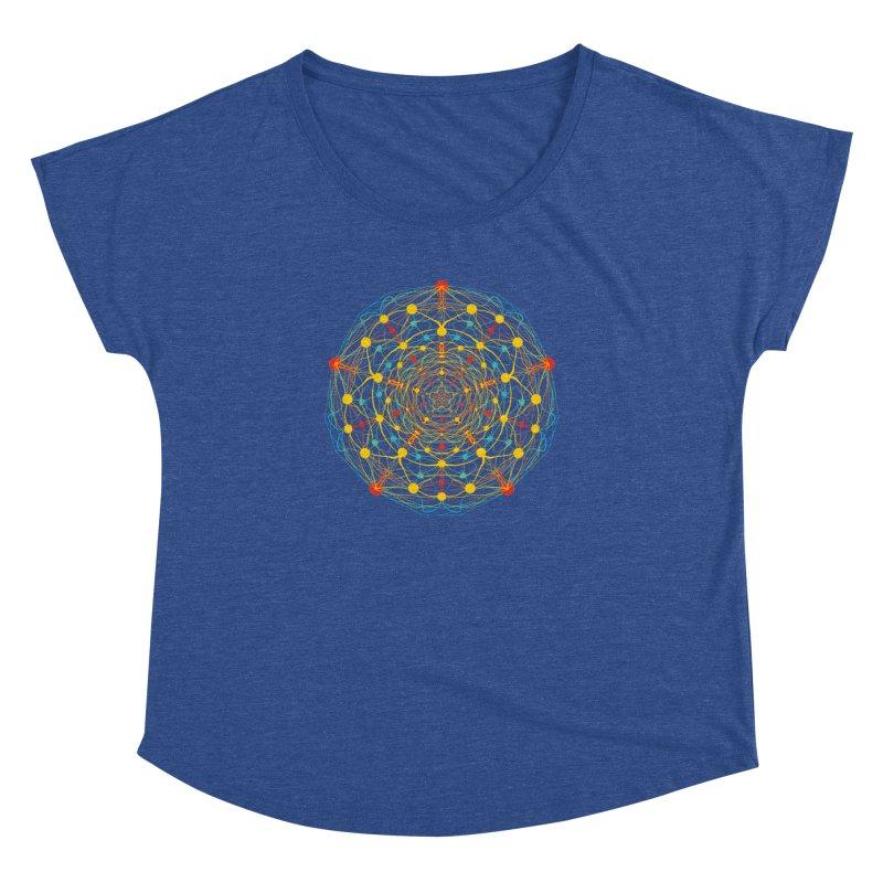 Neural Mandala 2 Women's Dolman by kharmazero's Artist Shop
