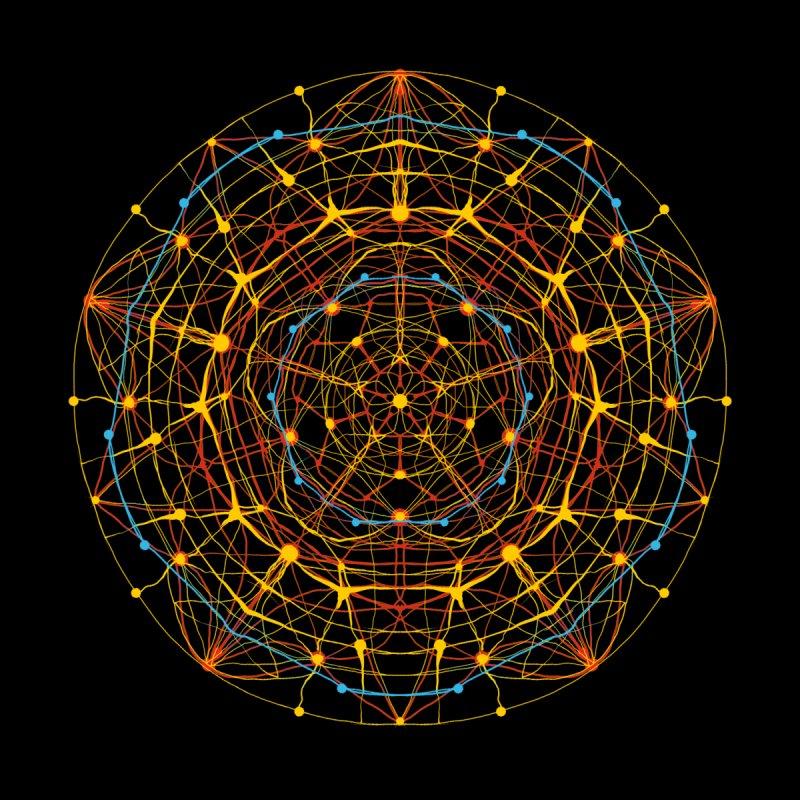 neural mandala 1 by kharmazero's Artist Shop