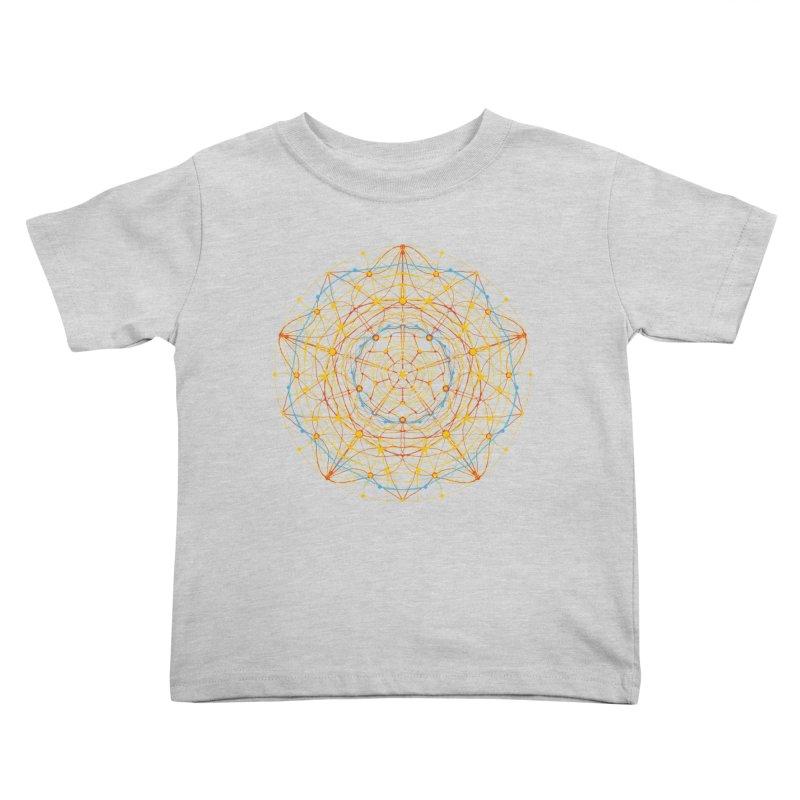 neural mandala 1 Kids Toddler T-Shirt by kharmazero's Artist Shop