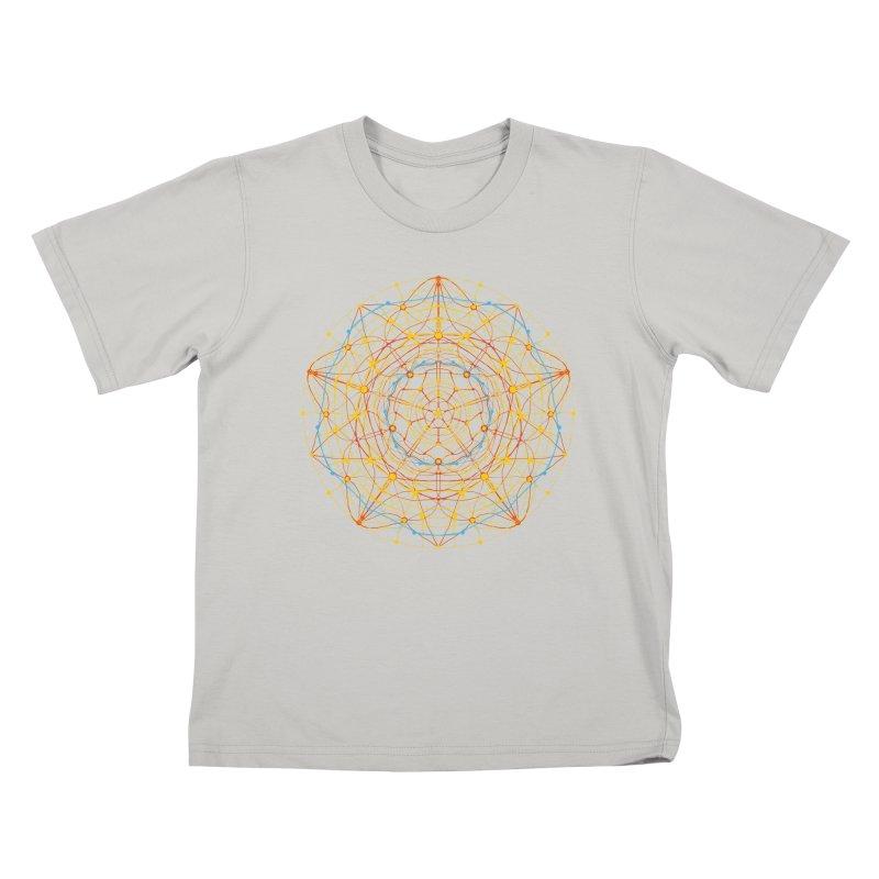 neural mandala 1 Kids T-shirt by kharmazero's Artist Shop
