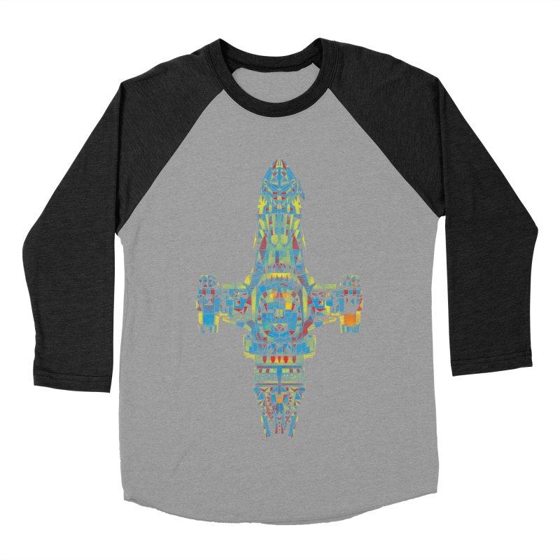 serenity mosaic Men's Baseball Triblend T-Shirt by kharmazero's Artist Shop