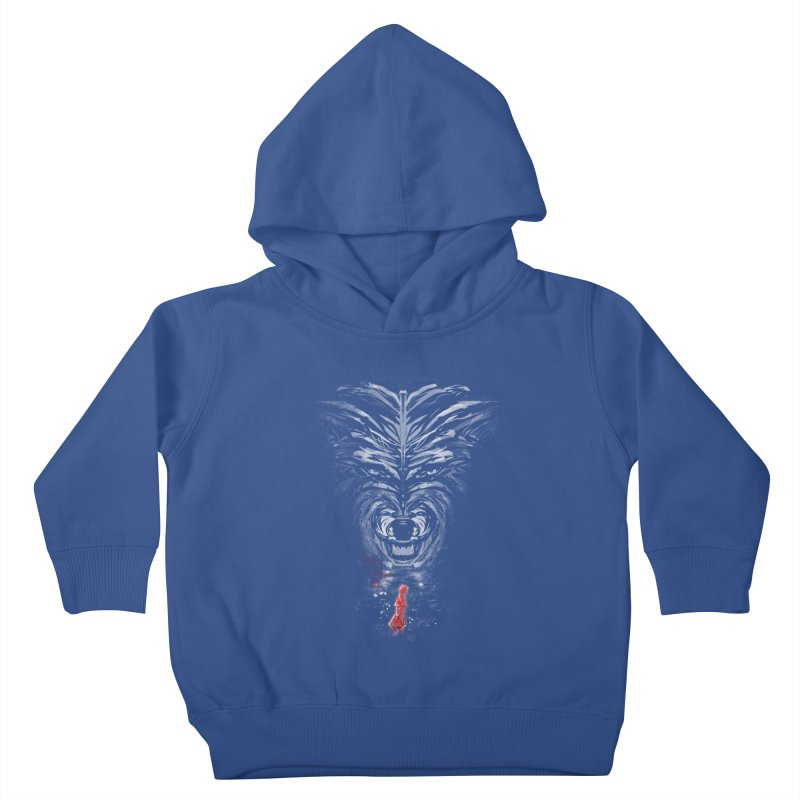 into the woods Kids Toddler Pullover Hoody by kharmazero's Artist Shop