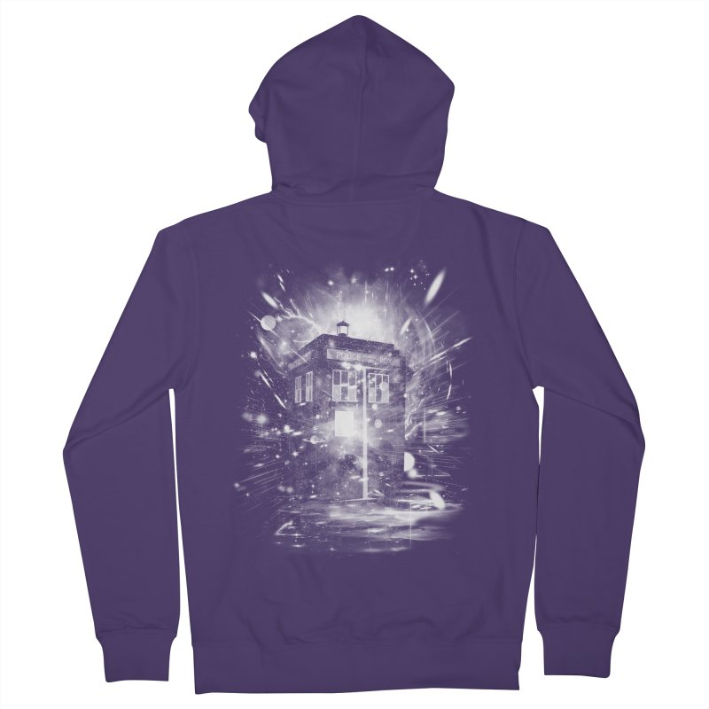 time and space ship Women's Zip-Up Hoody by kharmazero's Artist Shop