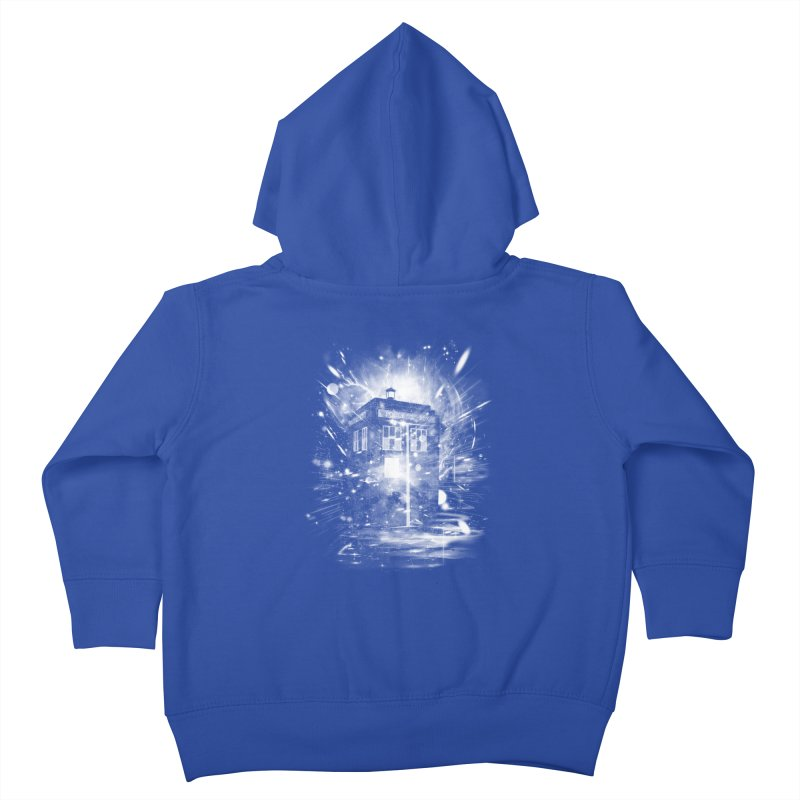 time and space ship Kids Toddler Zip-Up Hoody by kharmazero's Artist Shop