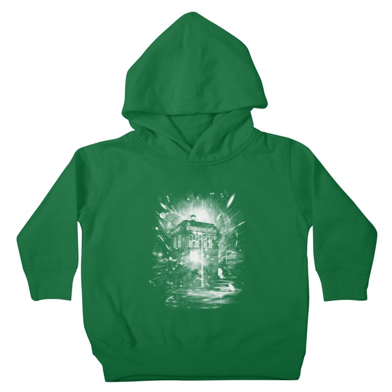 time and space ship Kids Toddler Pullover Hoody by kharmazero's Artist Shop