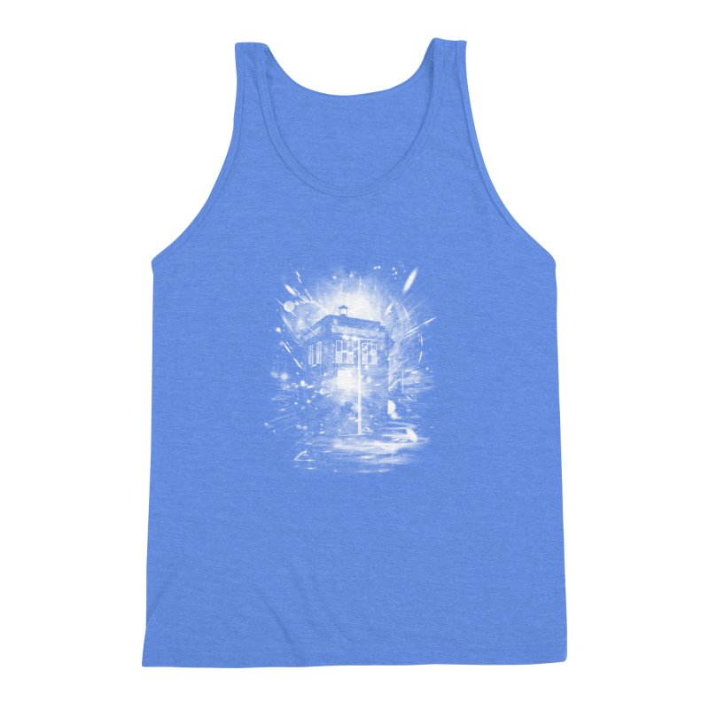 time and space ship Men's Triblend Tank by kharmazero's Artist Shop