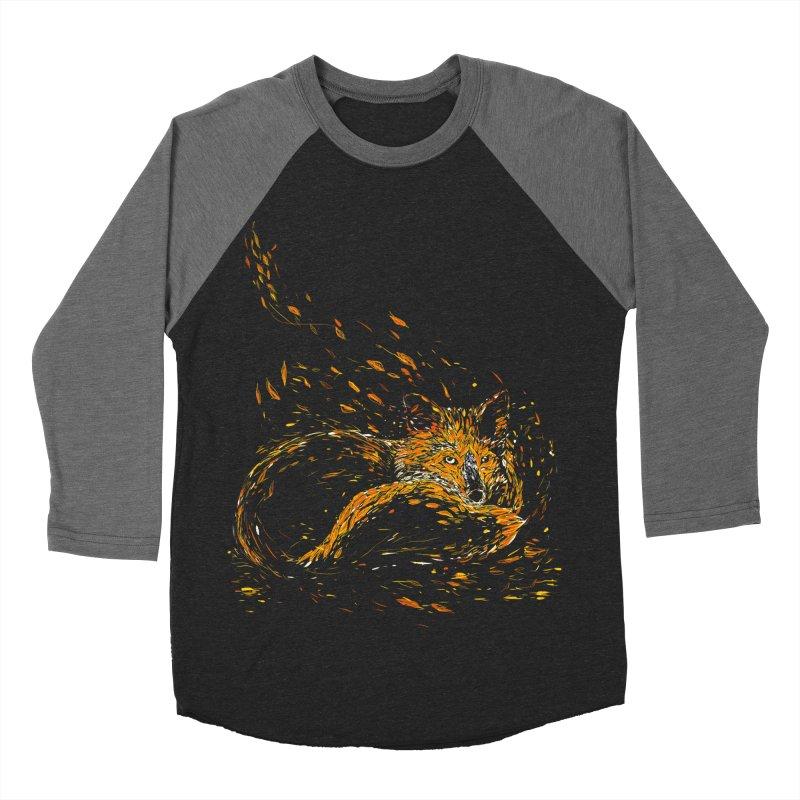 cameo fox Women's Baseball Triblend T-Shirt by kharmazero's Artist Shop