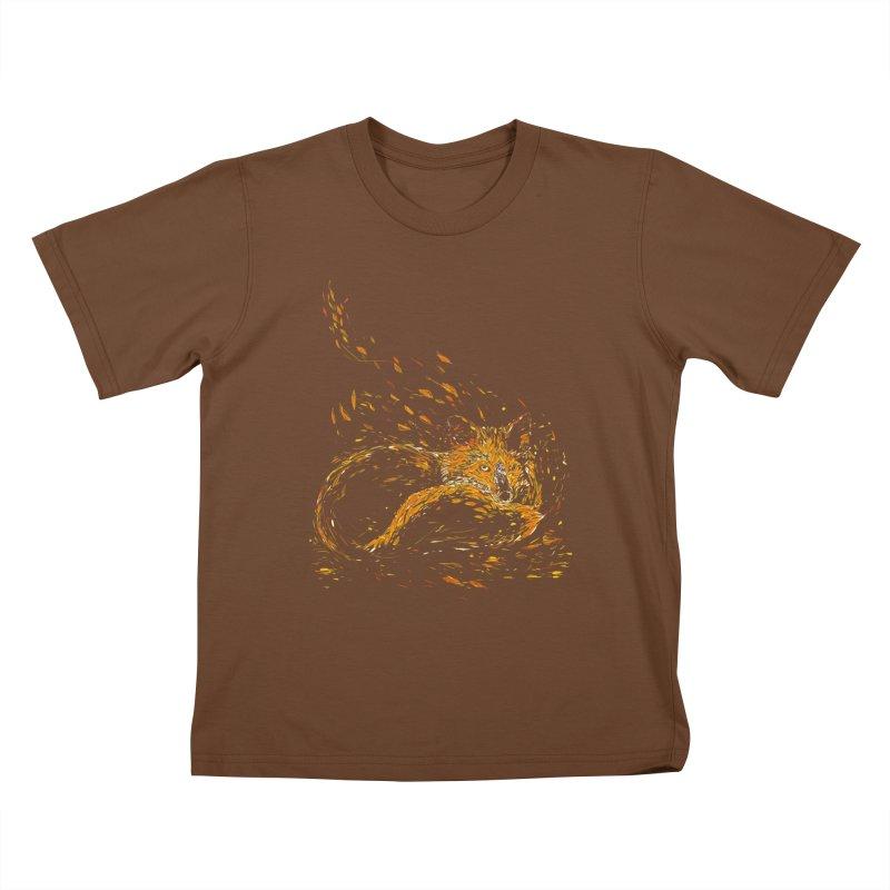 cameo fox Kids T-shirt by kharmazero's Artist Shop