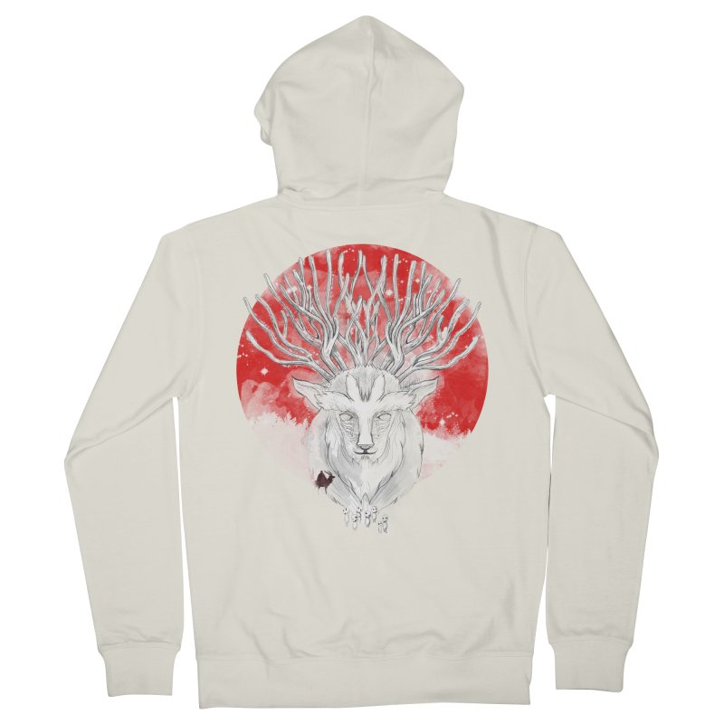 forest defenders Women's Zip-Up Hoody by kharmazero's Artist Shop