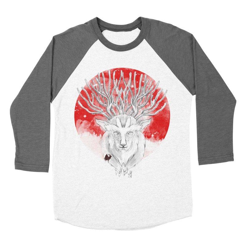forest defenders Women's Baseball Triblend T-Shirt by kharmazero's Artist Shop