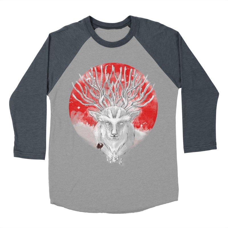 forest defenders Men's Baseball Triblend T-Shirt by kharmazero's Artist Shop