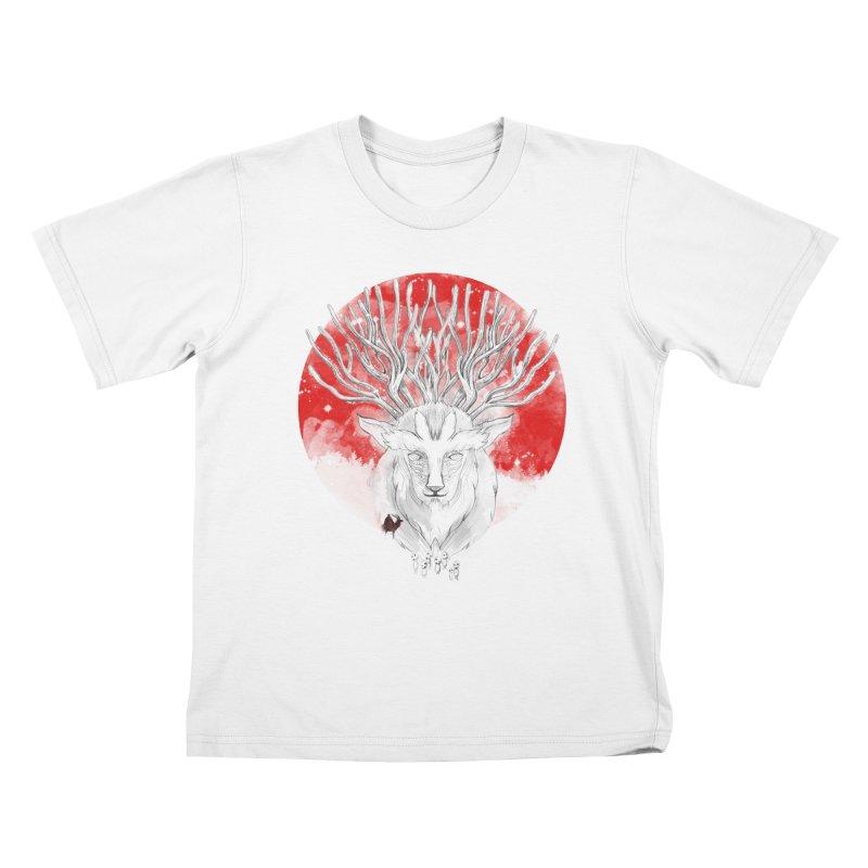 forest defenders Kids T-shirt by kharmazero's Artist Shop