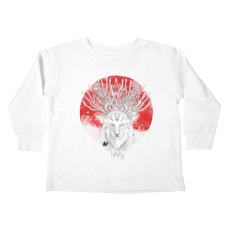 forest defenders Kids Toddler Longsleeve T-Shirt by kharmazero's Artist Shop