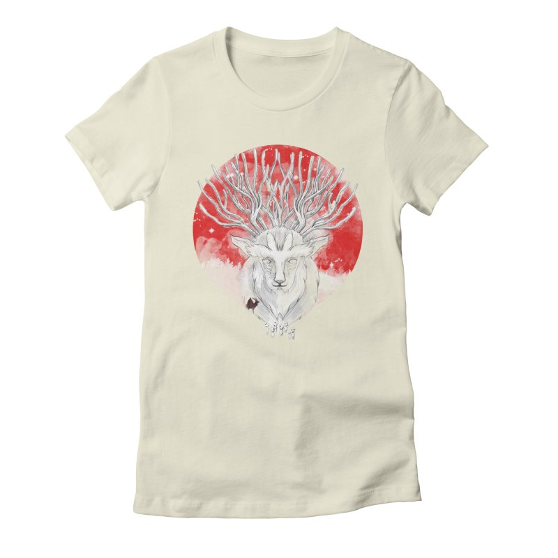 forest defenders Women's Fitted T-Shirt by kharmazero's Artist Shop