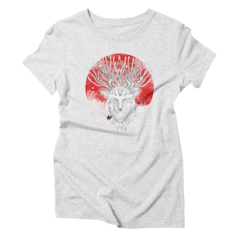 forest defenders Women's Triblend T-shirt by kharmazero's Artist Shop