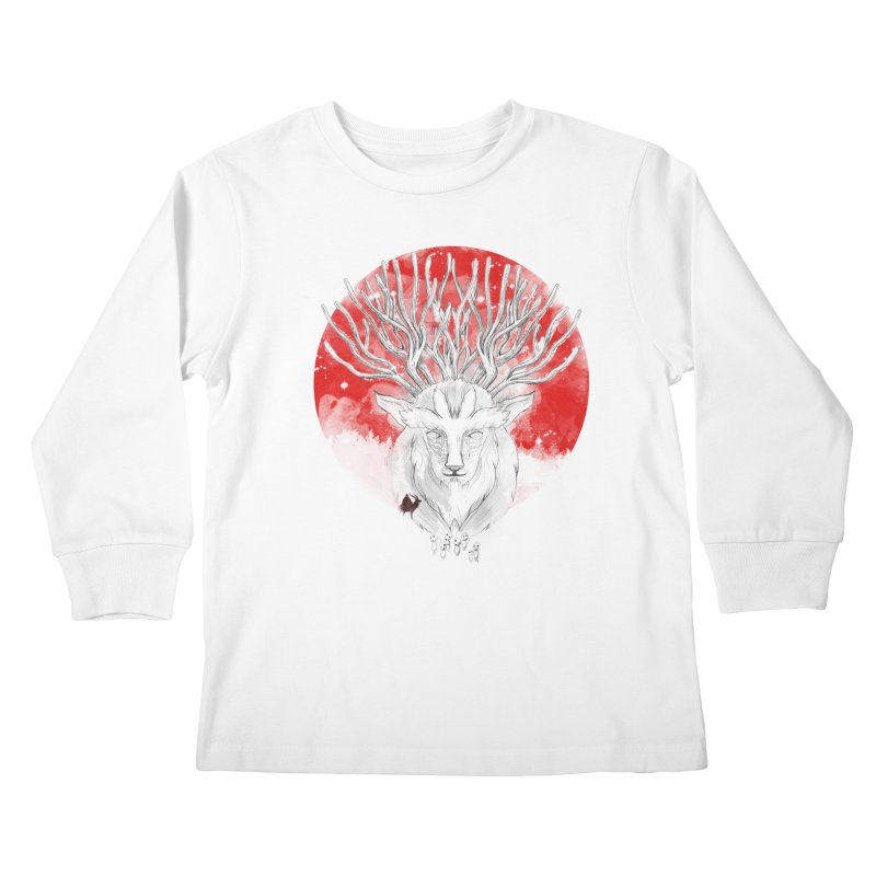 forest defenders Kids Longsleeve T-Shirt by kharmazero's Artist Shop