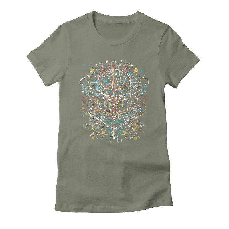 EIDANN Women's Fitted T-Shirt by kharmazero's Artist Shop