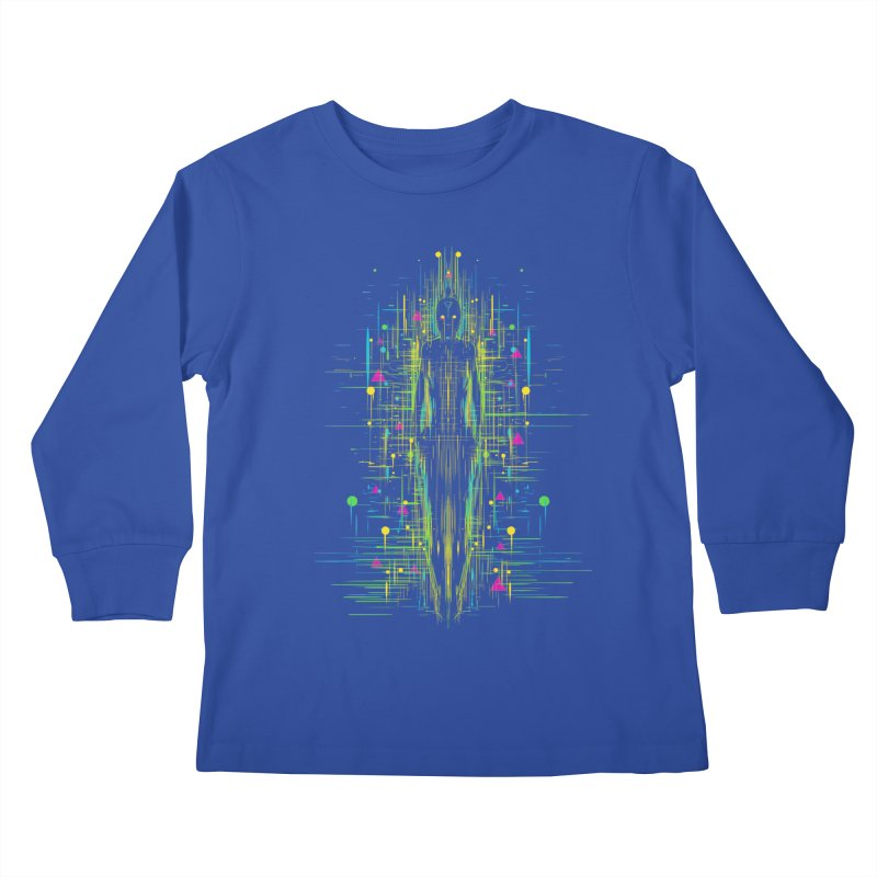 AI rising Kids Longsleeve T-Shirt by kharmazero's Artist Shop