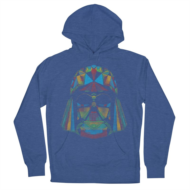 dark side of the polygons Women's Pullover Hoody by kharmazero's Artist Shop