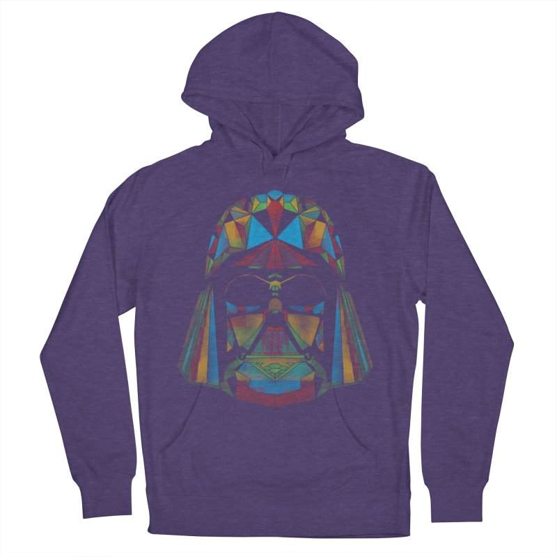 dark side of the polygons Men's Pullover Hoody by kharmazero's Artist Shop