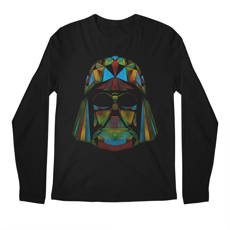 dark side of the polygons Men's Longsleeve T-Shirt by kharmazero's Artist Shop