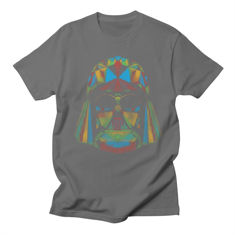 dark side of the polygons Men's T-shirt by kharmazero's Artist Shop