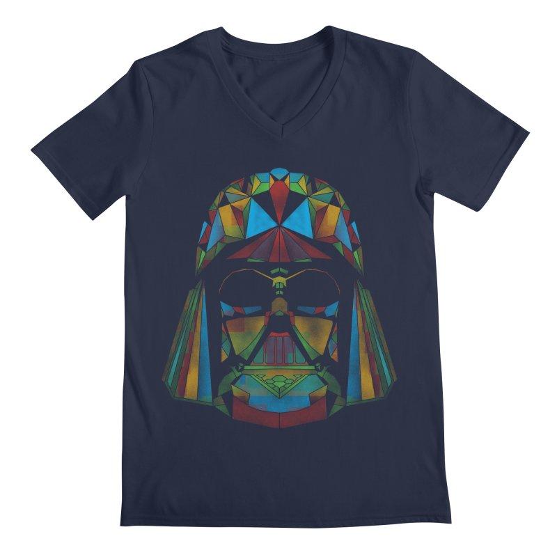 dark side of the polygons Men's V-Neck by kharmazero's Artist Shop