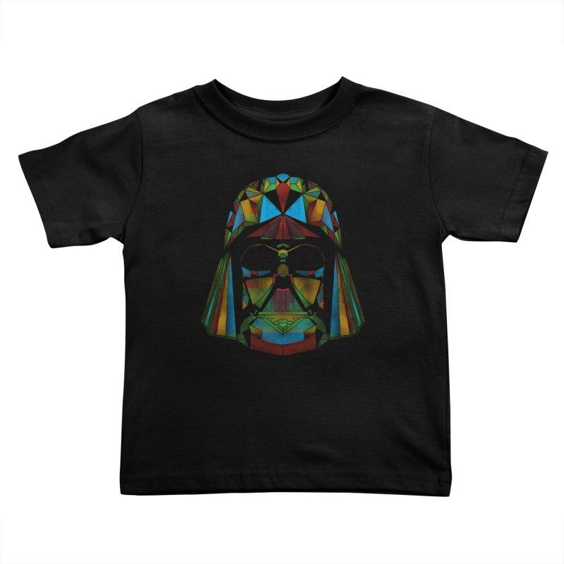 dark side of the polygons Kids Toddler T-Shirt by kharmazero's Artist Shop