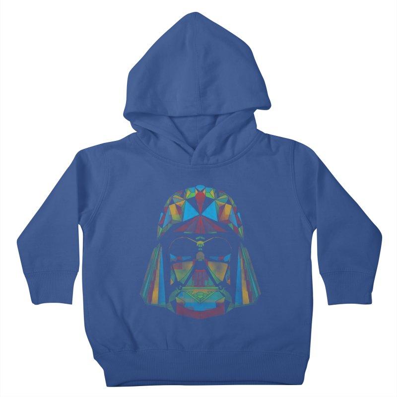 dark side of the polygons Kids Toddler Pullover Hoody by kharmazero's Artist Shop