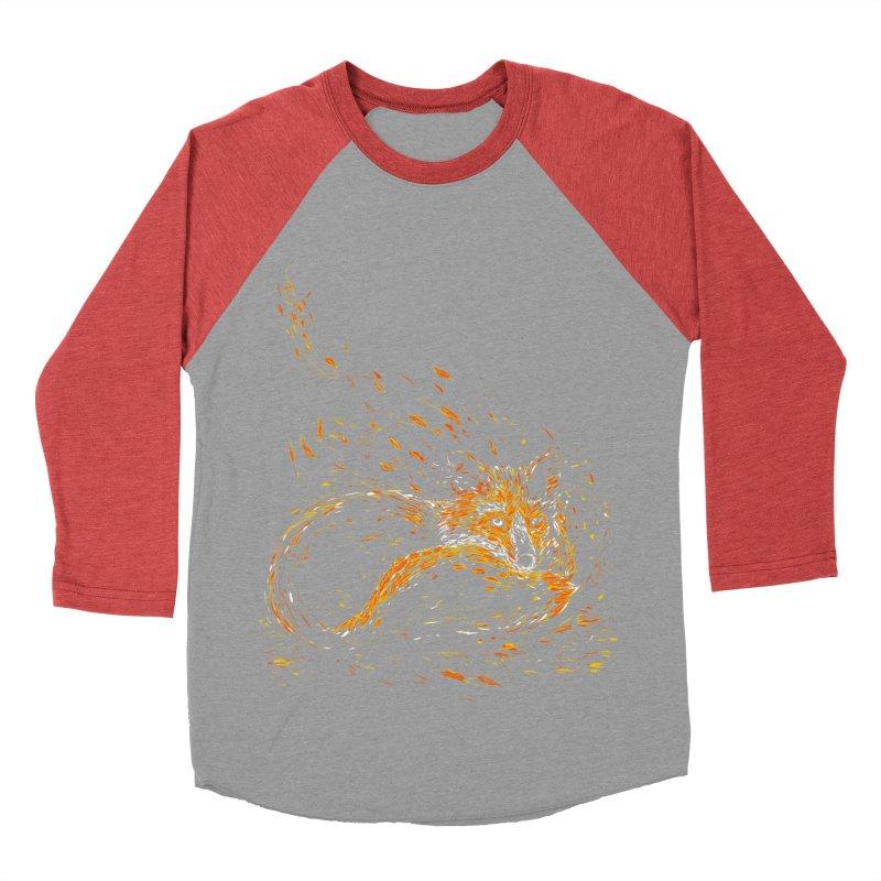 cameo fox Men's Baseball Triblend T-Shirt by kharmazero's Artist Shop
