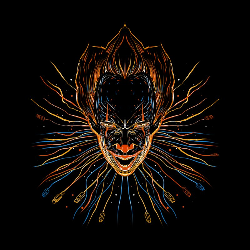IT clown by kharmazero's Artist Shop