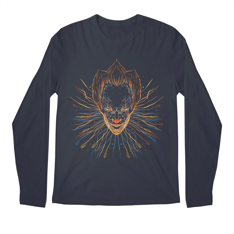 IT clown Men's Longsleeve T-Shirt by kharmazero's Artist Shop