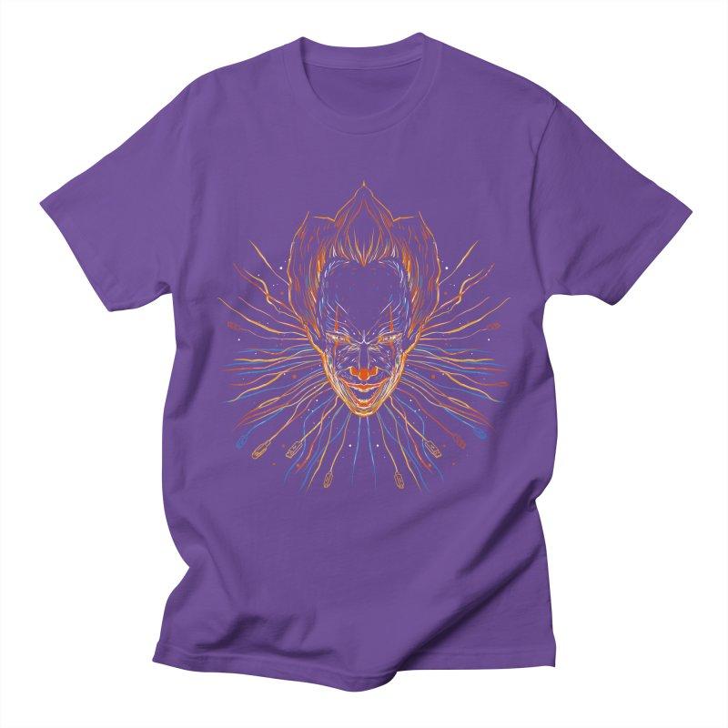 IT clown Men's T-shirt by kharmazero's Artist Shop