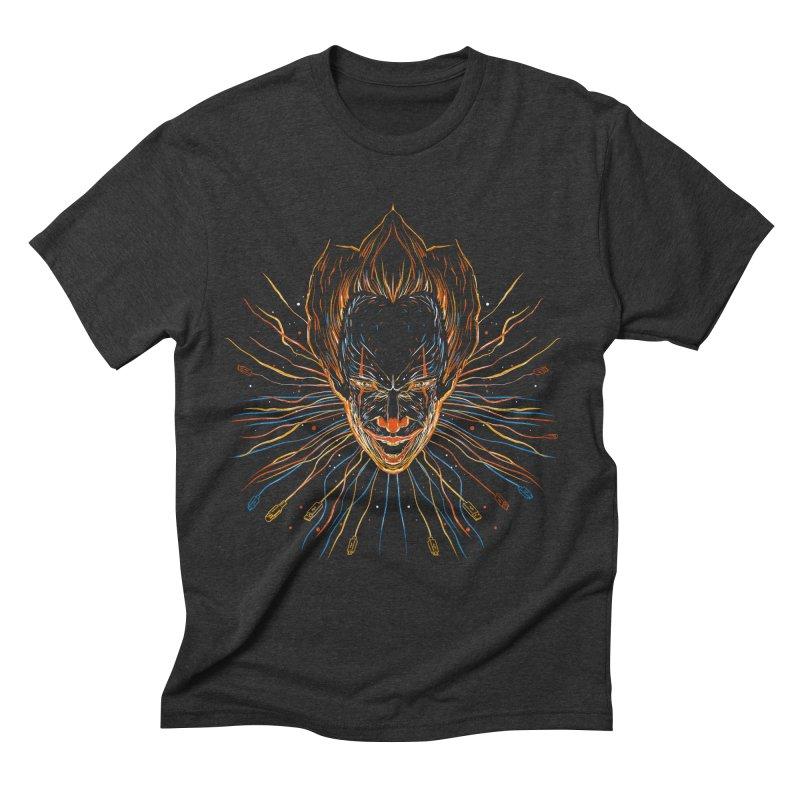 IT clown Men's Triblend T-shirt by kharmazero's Artist Shop