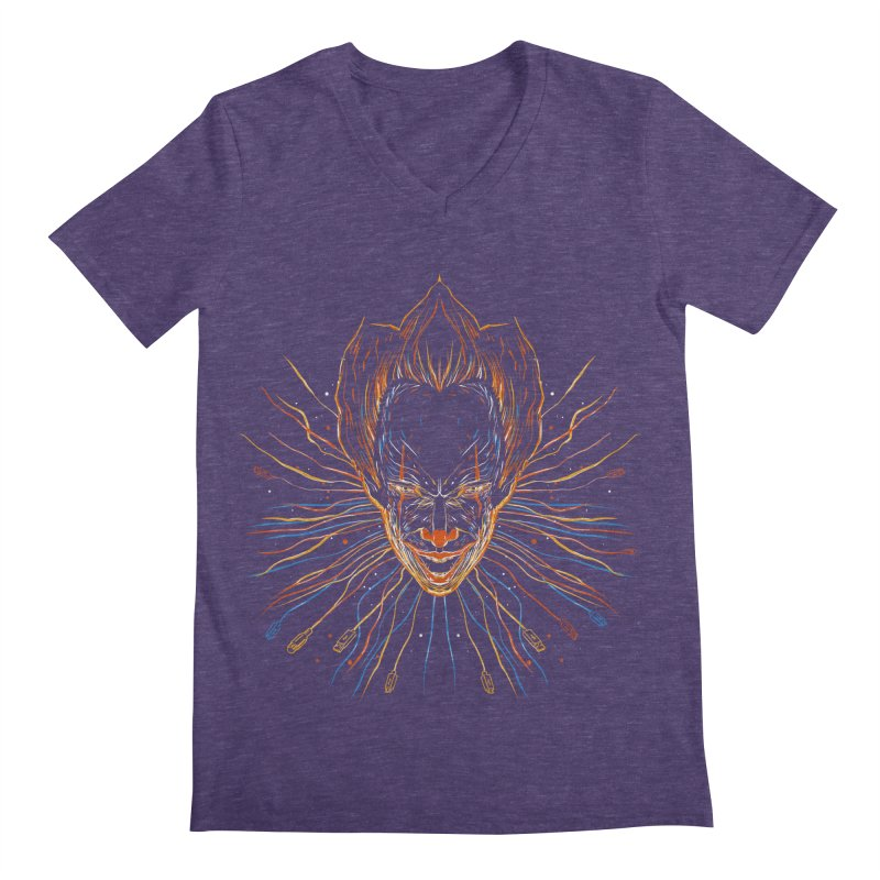 IT clown Men's V-Neck by kharmazero's Artist Shop