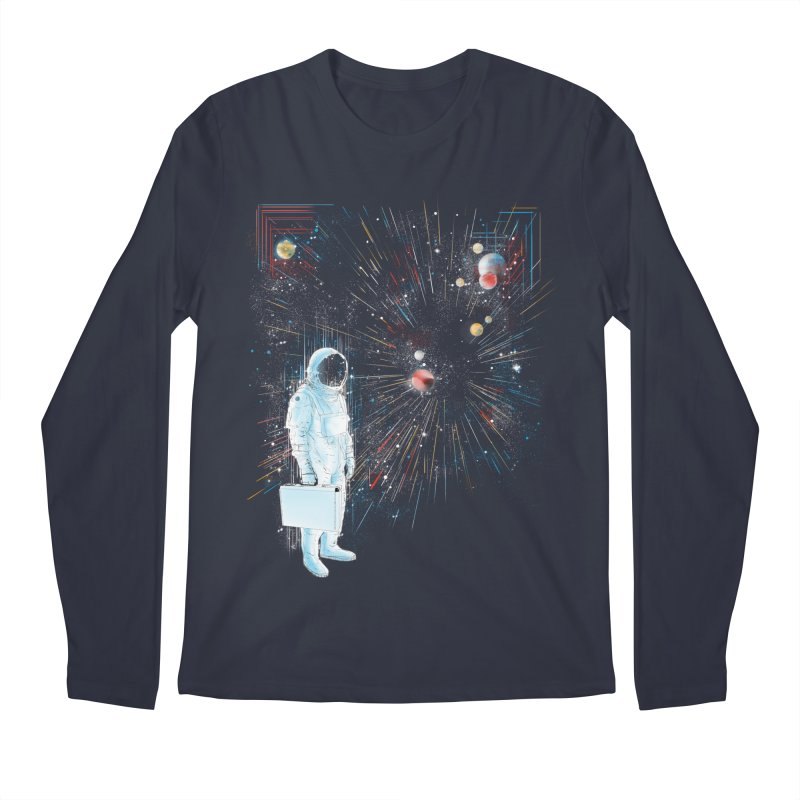 open workspace Men's Longsleeve T-Shirt by kharmazero's Artist Shop