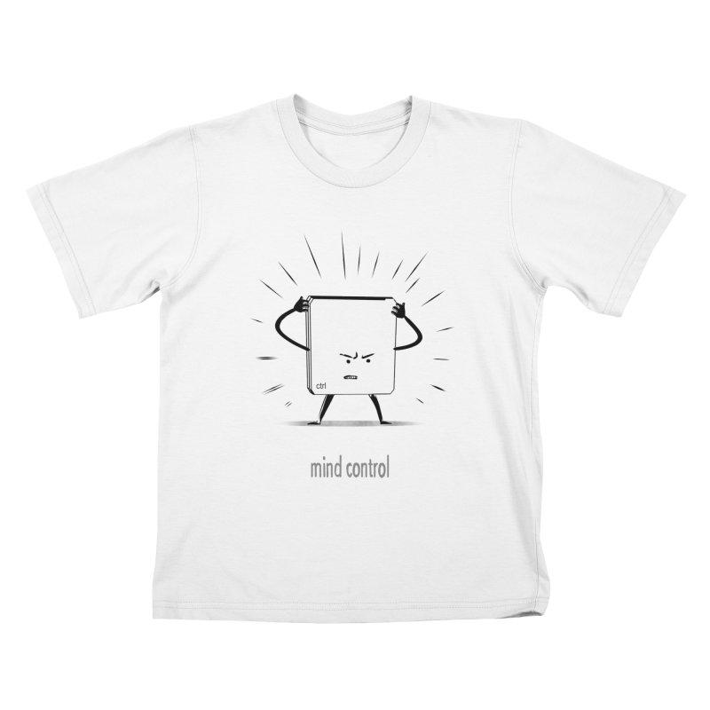 mind control Kids T-Shirt by kharmazero's Artist Shop