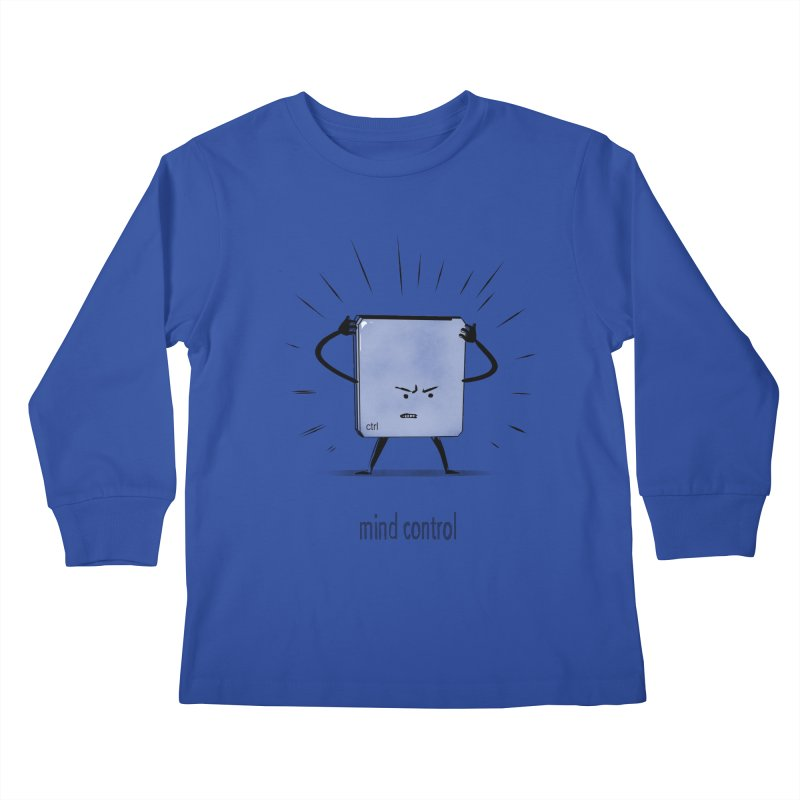mind control Kids Longsleeve T-Shirt by kharmazero's Artist Shop