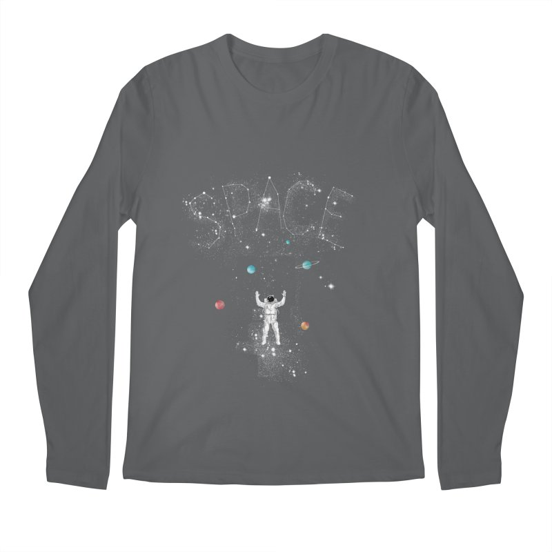 space!!!!! Men's Longsleeve T-Shirt by kharmazero's Artist Shop