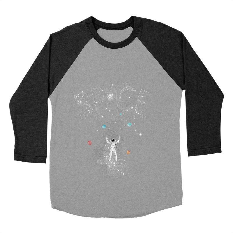 space!!!!! Women's Baseball Triblend T-Shirt by kharmazero's Artist Shop