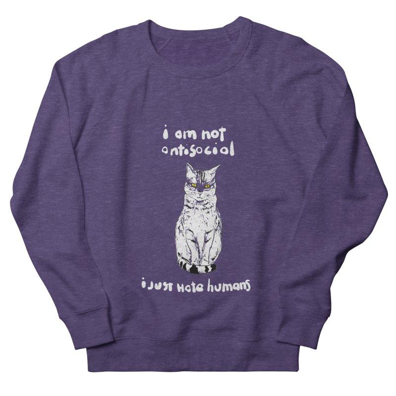 not social Women's Sweatshirt by kharmazero's Artist Shop