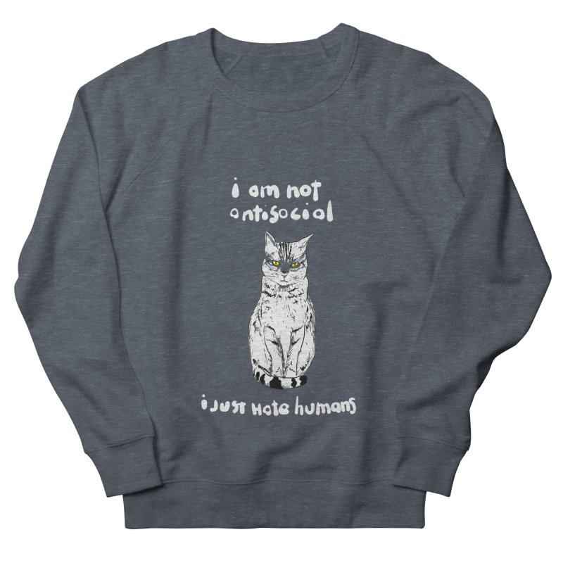 not social Men's Sweatshirt by kharmazero's Artist Shop
