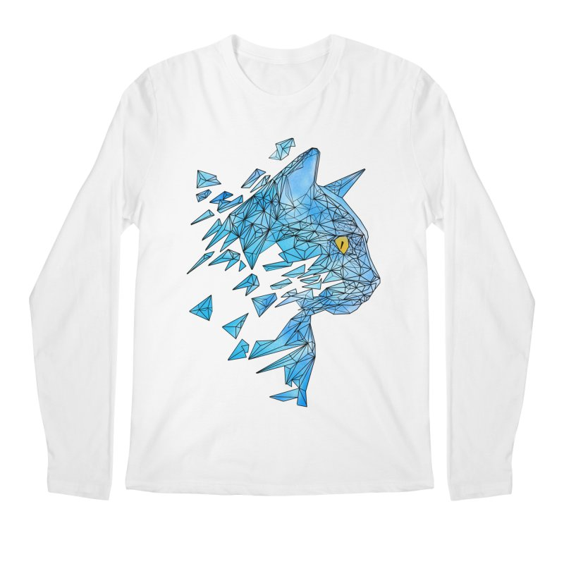 polycat Men's Longsleeve T-Shirt by kharmazero's Artist Shop