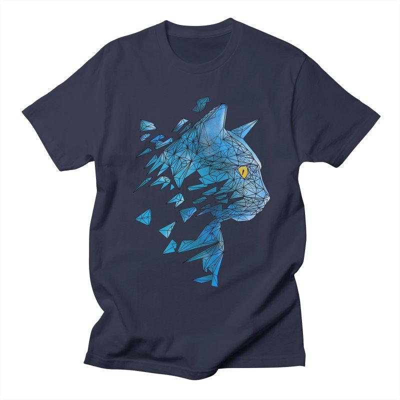 polycat Men's T-Shirt by kharmazero's Artist Shop