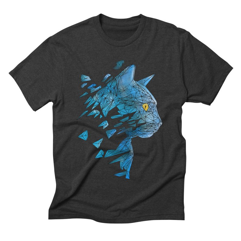 polycat Men's Triblend T-Shirt by kharmazero's Artist Shop