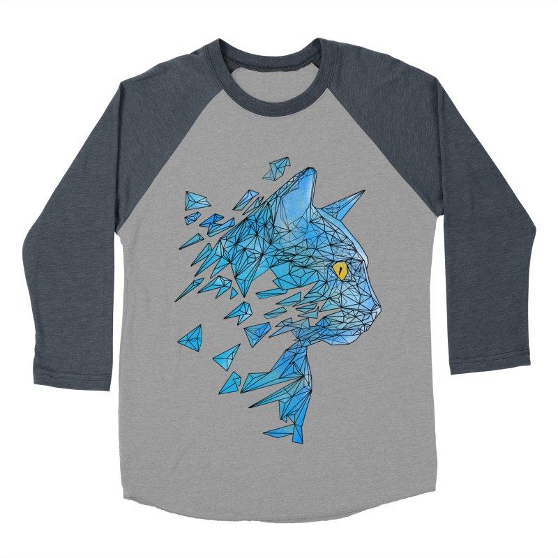 polycat Women's Baseball Triblend T-Shirt by kharmazero's Artist Shop