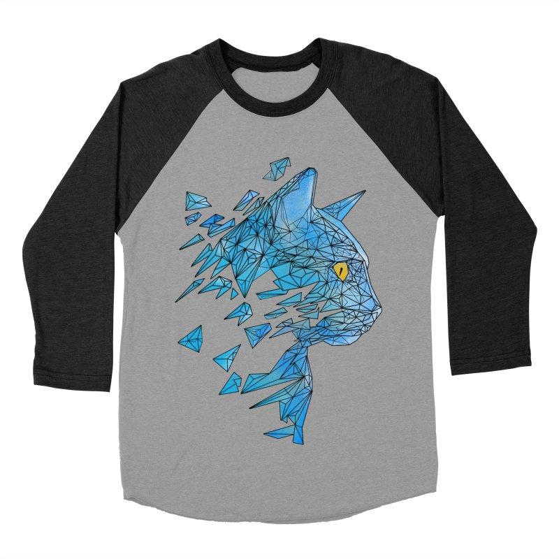 polycat Men's Baseball Triblend T-Shirt by kharmazero's Artist Shop