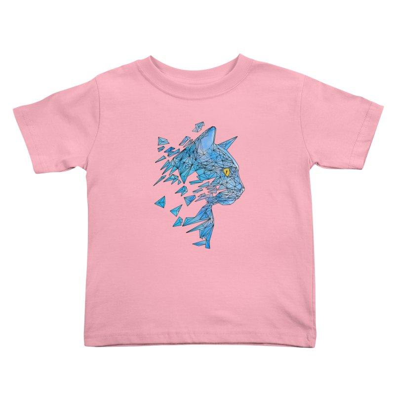 polycat Kids Toddler T-Shirt by kharmazero's Artist Shop